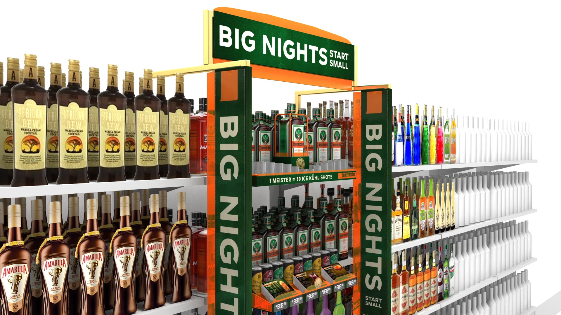 VF ! boosted Jagermeister's growth by 45% in the Liqueurs and Shooters Category