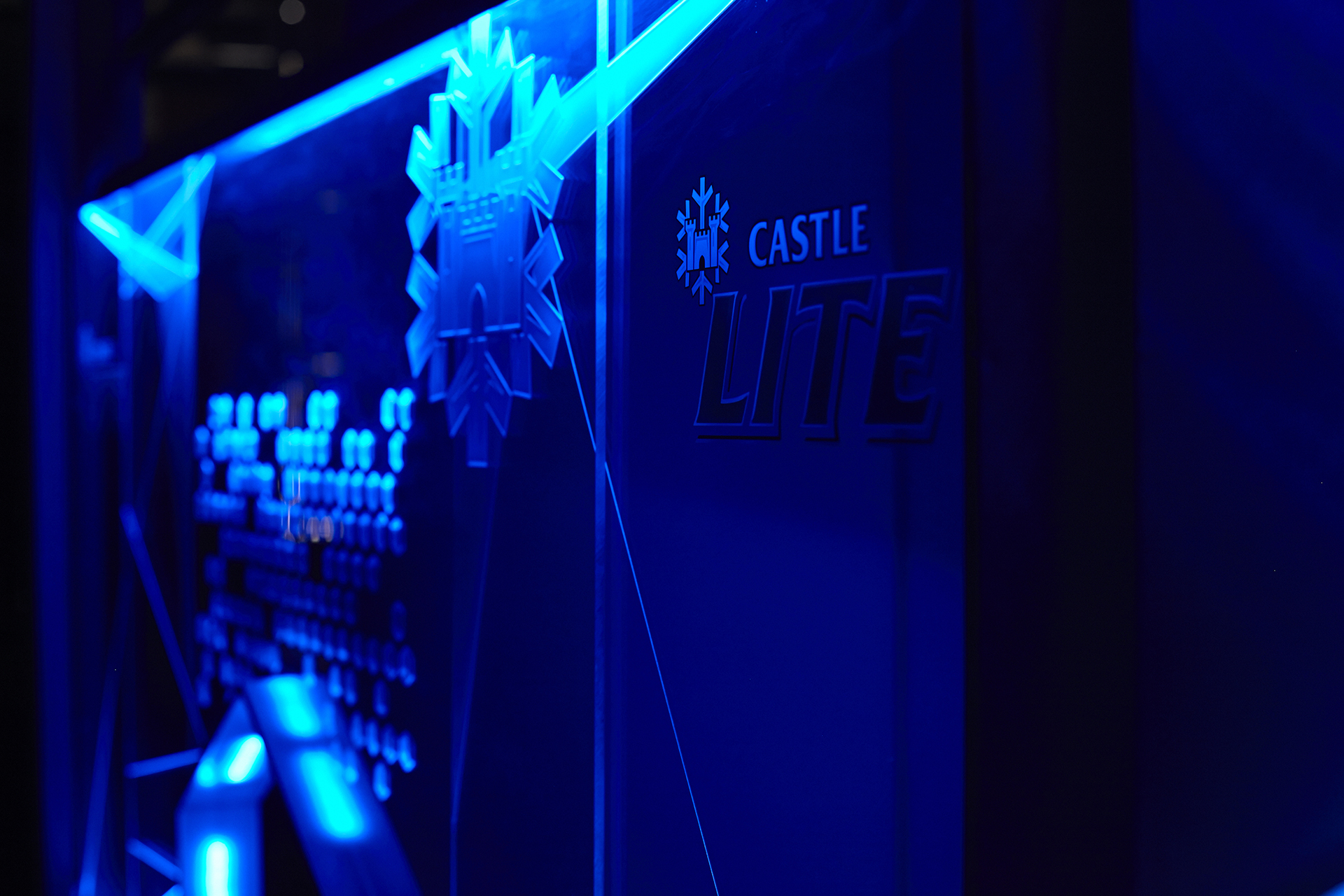 Castle Lite Retail Marketing with VF!